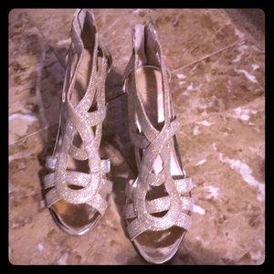 Mid High evening sandals